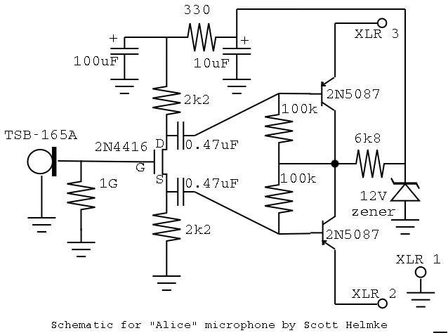 electret tiny design